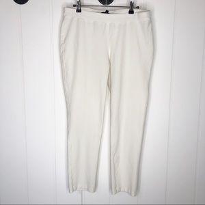 Eileen Fisher Pull-On Pant Leggings White Medium